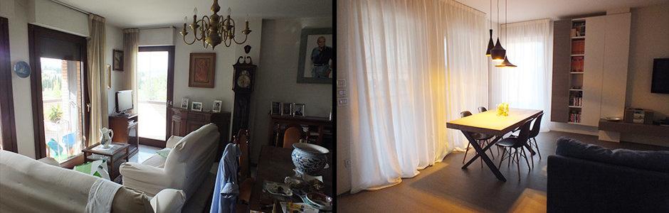 Restyling soggiorno abitazione