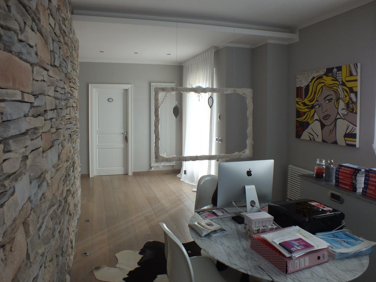 Progettazione interni di un B&B nelle colline di Arezzo