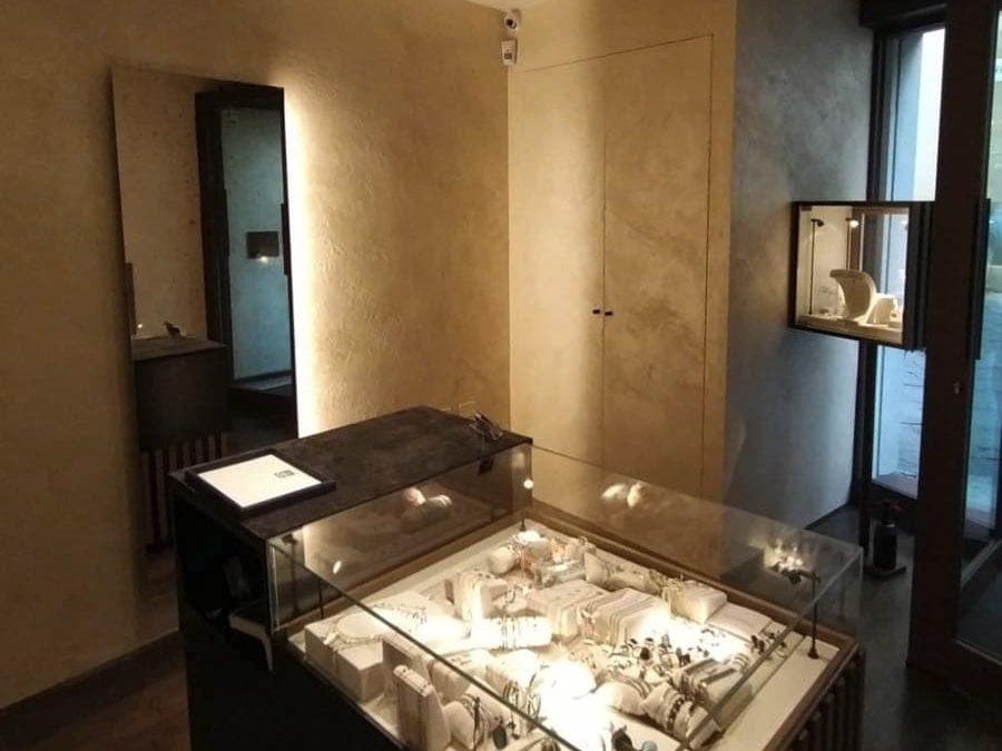 Design Negozio Gioielleria in Val di Chiana